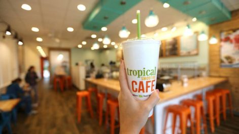 FRNCHISE GOWTH SOLUTIONS, TROPICAL SMOOTHIE CAFE, FRANCHISE, SMALL BUSINESS